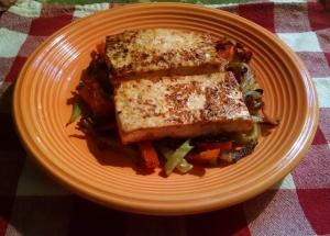 Pan Seared Tofu